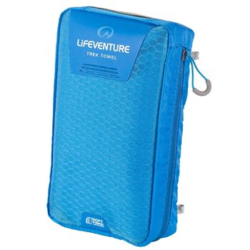Lifeventure SoftFibre Trek Towel XLarge 130x75cm Lightweight Fast Dry  - Click to view larger image