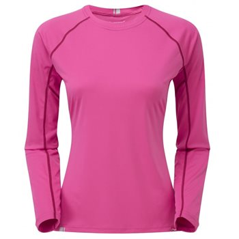Montane Female Sonic Long Sleeve T-Shirt  - Click to view larger image