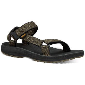 Teva Mens Winsted Walking / Hiking Sandals Bamboo Black - Click to view larger image