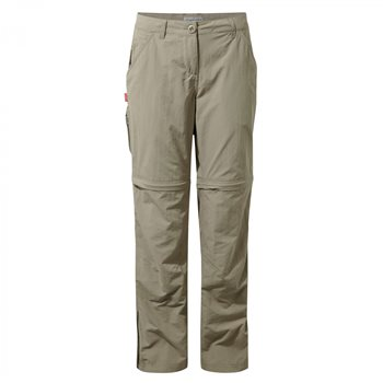 Craghoppers Womens NosiLife Zip-Off Trousers  - Click to view larger image