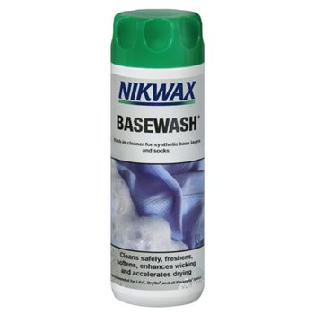 Nikwax Base Wash 300ml Cleaner for Synthetic Base Layers & Socks  - Click to view larger image