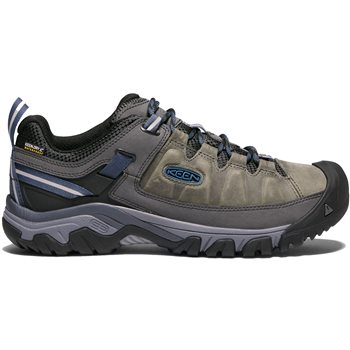 Keen Mens Targhee III WP Walking / Hiking Shoes Targhee III Waterproof - Black Olive-Golden Brown - Click to view larger image