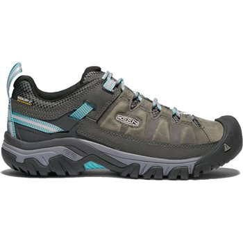 Keen Womens Targhee III WP Walking / Hiking Shoes Targhee III Waterproof - Alcatraz-Blue Turquoise