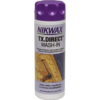Nikwax TX-Direct 300ml Water Proofer for Wet Weather Fabrics   - Click to view larger image