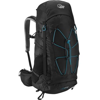 Lowe Alpine Unisex Airzone Camino Trek 40-50 Day Sack AirZone Camino Trek 40-50 - Black Orange