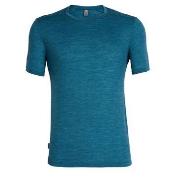 Icebreaker Mens Sphere S/S Crewe Base Layer Poseidon - Click to view larger image