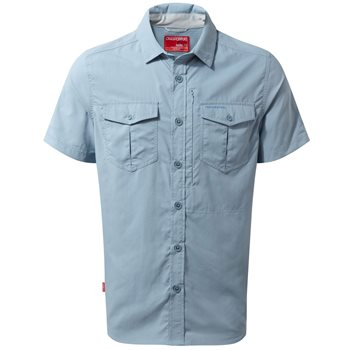 Craghoppers Mens NosiLife Adventure Short Sleeve Shirt  - Click to view larger image