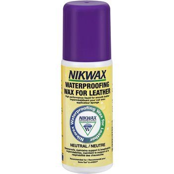Nikwax Waterproofing Wax 125ml for Smooth Leather Footwear  - Click to view larger image