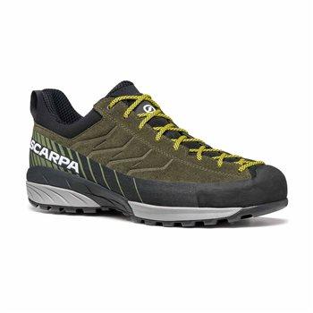 Scarpa Mens Mescalito Walking / Hiking Shoes Mescalito - Ocean-Citrus - Click to view larger image