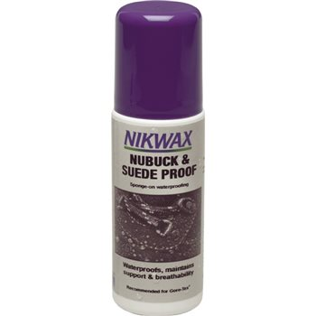 Nikwax Nubuck & Suede Proof 125ml  - Click to view larger image
