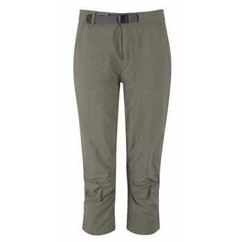 Mountain Equipment Womens Approach Capri Warm Weather Trekking Trouser  - Click to view larger image