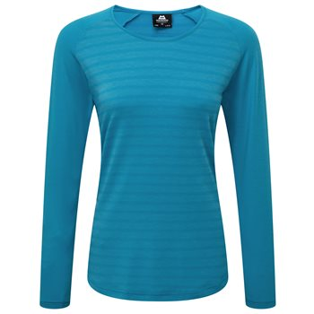 Mountain Equipment Redline Womens LS Tee  - Click to view larger image