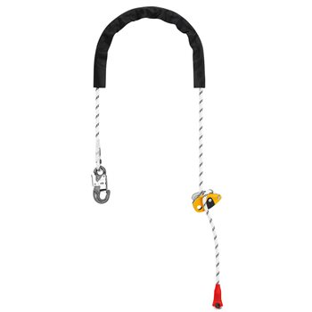 Petzl Grillon Hook Adjustable Lanyard Fall Arrest  - Click to view larger image