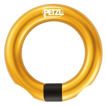 Petzl Ring Open Semi-permanent Gated Ring Fall Arrest  - Click to view larger image