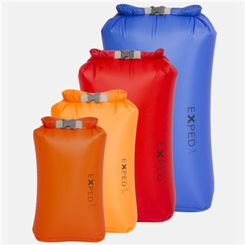 Exped Drybag Ultralite 4 Pack 3L-5L-8L-13L Waterproof Set  - Click to view larger image
