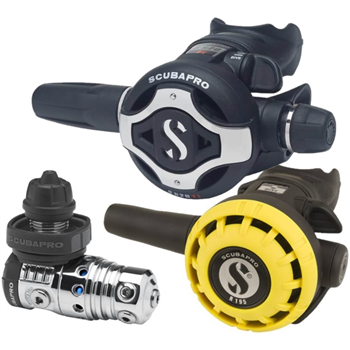 Scubapro MK25 EVO S620Ti Regulator + R195 Octopus Second Stage  - Click to view larger image