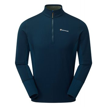 Montane Mens Iridium Hybrid Pull-On Fleece  - Click to view larger image