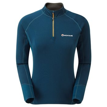 Montane Womens Iridium Hybrid Pull-On Fleece  - Click to view larger image