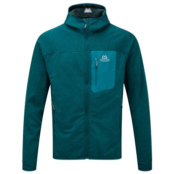 Mountain Equipment Mens Pivot Hooded Fleece Jacket  - Click to view larger image