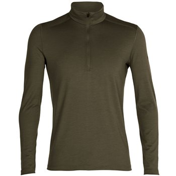Icebreaker Mens 200 Oasis LS Half Zip Thermal Base Layer 200 Oasis LS Half Zip - Nightfall - Click to view larger image