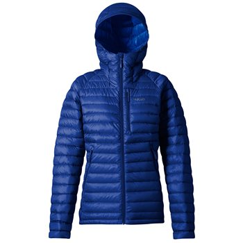 Rab Womens Microlight Alpine Long Insulated Jacket  - Click to view larger image