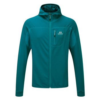 Mountain Equipment Mens Eclipse Hooded Fleece Jacket  - Click to view larger image