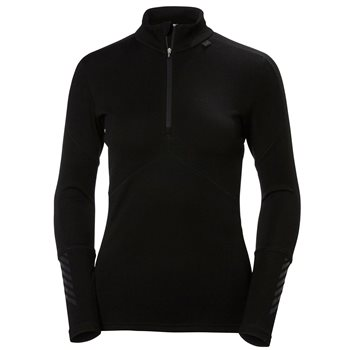 Helly Hansen Womens Lifa Merino ½ Zip Base Layer  - Click to view larger image