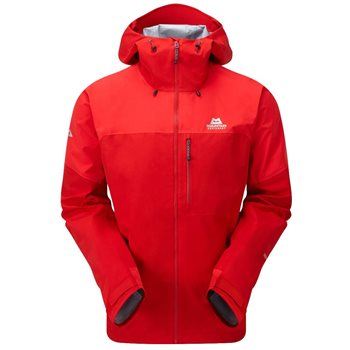 Mountain Equipment Mens Lhotse Atmo Waterproof Jacket Lhotse Atmo  Crimsion-Imperial Red - Click to view larger image