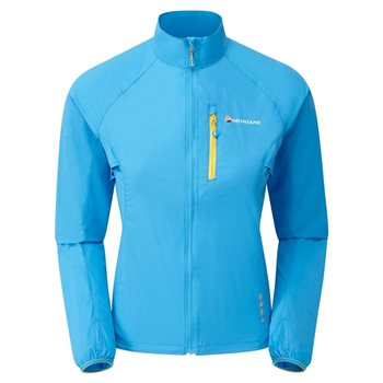 Montane Womens Female Featherlite Trail Windproof Jacket  - Click to view larger image