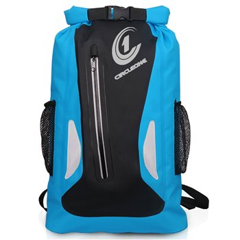 Circle One Unisex Waterproof Dry Bag 25L Vertical Zip Rucksack  - Click to view larger image