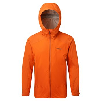 Rab Mens Kinetic Alpine Waterproof Jacket  - Click to view larger image