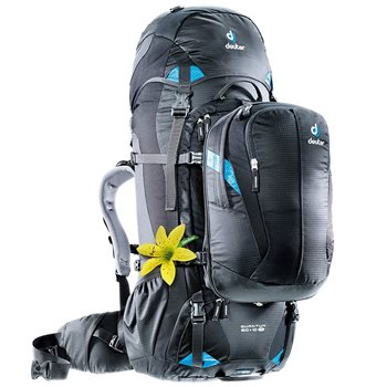 Deuter Womens Quantum 60+10 SL Travel Backpack with 18L Day Sack  - Click to view larger image