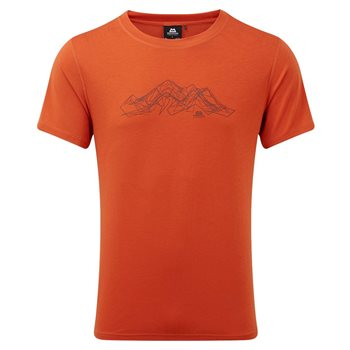 Mountain Equipment Mens Groundup Mountain Tee Base Layer  - Click to view larger image