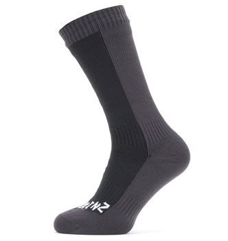 Sealskinz Unisex Waterproof Cold Weather Mid Length Socks  - Click to view larger image