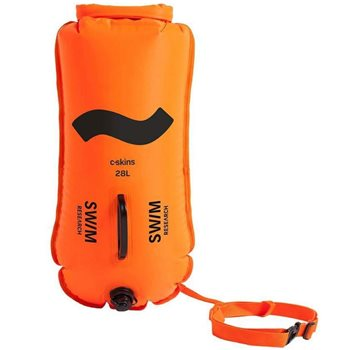 C Skins Swim Research Swim Buoy 28L High Visibility Dry Bag Float  - Click to view larger image