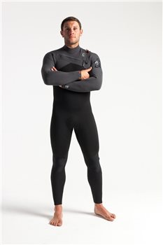 C Skins Swim Research Mens Rewired 5:4 Chest Zip Steamer Wetsuit  - Click to view larger image