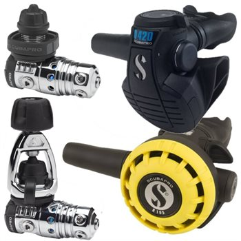 Scubapro MK25 EVO D420 Regulator + R195 Octopus Second Stage  - Click to view larger image