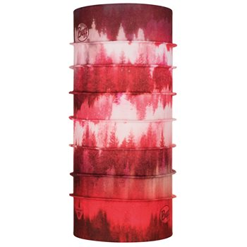 Buff ThermoNet Misty Woods Blossom Red Multifunctional Scarf  - Click to view larger image