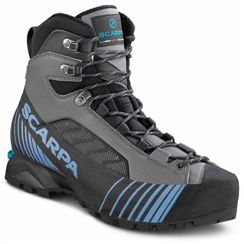 Scarpa Mens Ribelle Lite HD Mountaineering Boots Ribelle Lite HD - Gray-Ocean - Click to view larger image