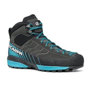 Scarpa Mens Mescalito Mid GTX Walking / Hiking Boot Mescalito Mid GTX Titanium - Citrus - Click to view larger image