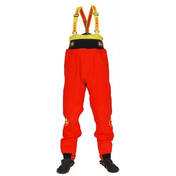 Peak UK Mens Storm Pants X2.5 Dry Trousers Storm Pants X2.5 - Red - Click to view larger image