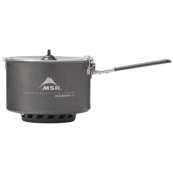 MSR Windburner Ceramic 2.5L Sauce Pot Non-stick Hard Anodized Aluminum Windburner Sauce Pot - Click to view larger image