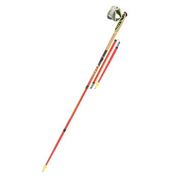 Leki Unisex Micro Trail Pro Carbon Trekking Pole Set Micro Trail Pro - Click to view larger image
