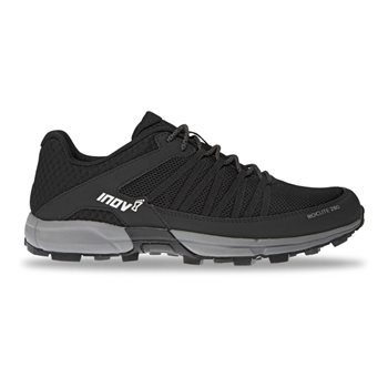 Inov-8 Mens Roclite 280 Trail Running Shoes Roclite 280 Black-Grey - Click to view larger image