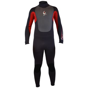 Circle One Kids Arctic Winter GBS 5/4/3 mm Warm Wetsuit ARTIC Winter - Red - Click to view larger image