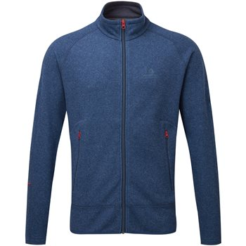 Mountain Equipment Mens Kore Fleece Jacket Kore Jacket - Denim Blue - Click to view larger image