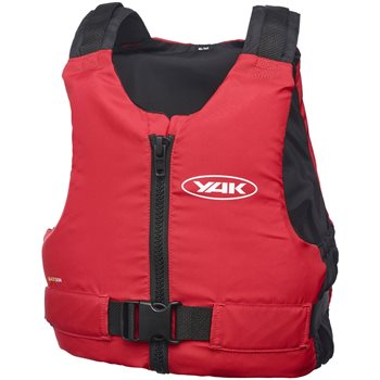 Yak Blaze Buoyancy Aids and Life Jackets Blaze Kayak 50N Buoyancy Aid - Red - Click to view larger image