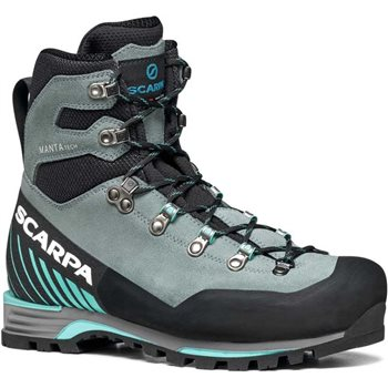 Scarpa Womens Manta Tech GTX Mountaineering Boots  Manta Tech GTX WMN - Conifer-Green Blue - Click to view larger image