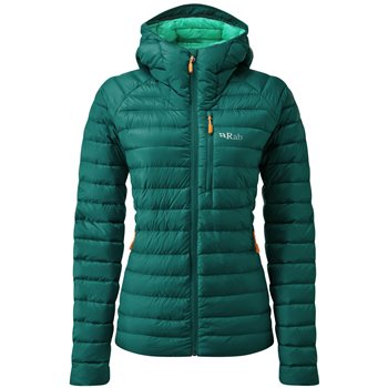Rab Womens Microlight Alpine Insulated Jacket Microlight Alpine Jacket - Ascent Red - Click to view larger image
