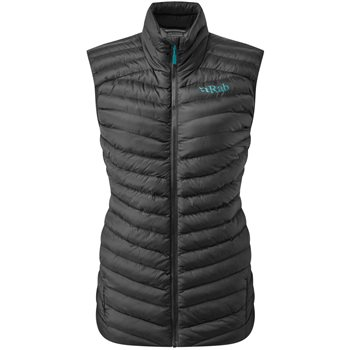 Rab Womens Cirrus Insulated Vest  Cirrus Vest - Beluga - Click to view larger image
